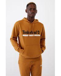 Timberland Tan Established 1973 Hoodie - Brown