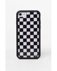 Wildflower - Black Checkers 6/7/8 Iphone Case - Lyst