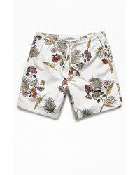 "PacSun Floral 17"" Swim Trunks - Multicolor"