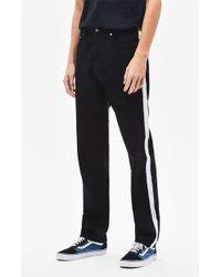 Wesc - Bob Side Stripe Straight Leg Jeans - Lyst