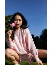 LA Hearts by PacSun Pocket Pullover Sweatshirt - Pink