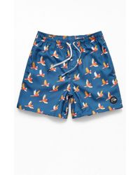 10802b0cd54a2 Paul Smith Men's Pink 'cockatoo' Print Swim Shorts in Pink for Men ...