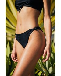 Lioness The Sophia Bikini Bottom - Black