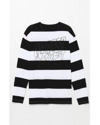 10.deep - Sound And Fury Stripe T-shirt - Lyst