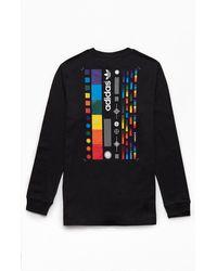 adidas Spectrum Long Sleeve T-shirt - Black