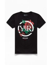 Young & Reckless Rose Above T-shirt - Black