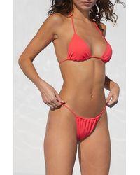 LA Hearts by PacSun Pink Ojai Skimpy Bikini Bottom
