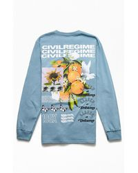 Civil Nector Of Life T-shirt - Blue