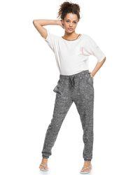 Roxy High Tide Sweatpants - Gray