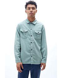 Rhythm Flannel Shirt - Green