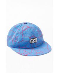 6b29f07417c14 Obey Bad Brains Bolt Hat for Men - Lyst