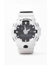 G-Shock - White Ana-digi Resin Watch - Lyst