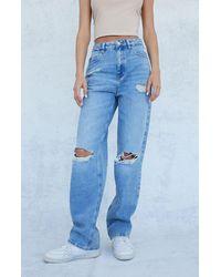 PacSun Light Blue Ripped '90s Boyfriend Jeans
