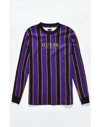 Guess - St. James Stripe Long Sleeve T-shirt - Lyst