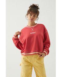 Kickers Cropped Sweatshirt - Pink