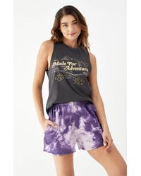 Rhythm - Adventure Vintage Sleeveless T-shirt - Lyst