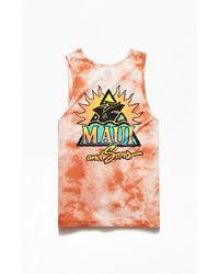 Maui & Sons El Sol Tank Top - Orange