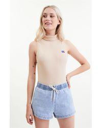 Russell Athletic Platte Sleeveless Bodysuit - Brown
