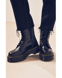 Dr. Martens - Polished Smooth Jadon Boots - Lyst