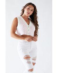 LA Hearts Clueless Sweater Vest - Pink