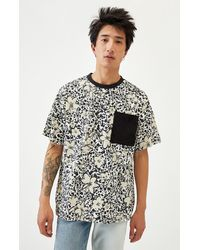 PS Basics Floral Pocket T-shirt - Black