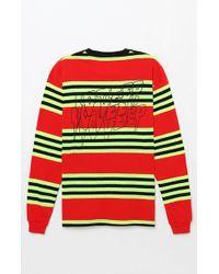 10.deep - Sound & Fury Stripe Long Sleeve T-shirt - Lyst