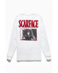 PacSun Scarface Long Sleeve T-shirt - White
