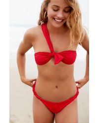 Lioness The Sophia Bikini Top - Red