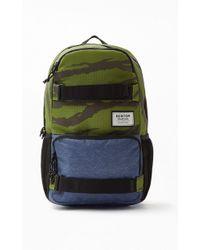 92bc6ab8e9 Lyst - Burton Treble Yell Black Backpack in Black for Men