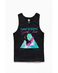 Maui & Sons Surf Prodigy Tank Top - Black