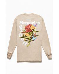 Civil Faded Memories Long Sleeve T-shirt - Brown