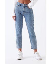 PacSun Medium Mom Jeans - Blue