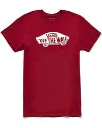 11ff707d6b Lyst - Vans Off The Wall Classic Mens Pocket Tee in Green for Men