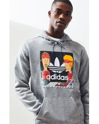 adidas - Beavis And Butthead Pullover Hoodie - Lyst