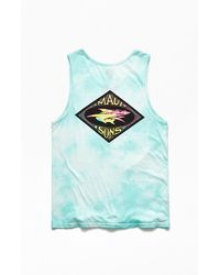 Maui & Sons Groovy Surf Co Tank Top - Blue