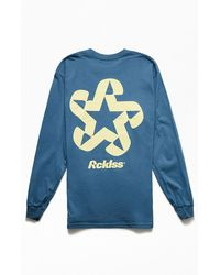 Young & Reckless Axis Long Sleeve T-shirt - Blue