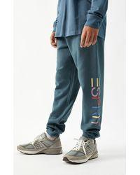 Esprit Logo Sweatpants - Blue