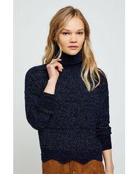 Raga For Infinity Turtleneck Sweater - Blue