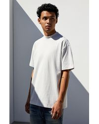 PS Basics Beck Mock Neck T-shirt - Gray