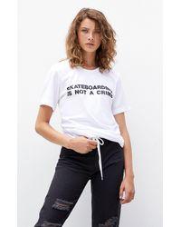Santa Cruz Skateboarding Crime T-shirt - White