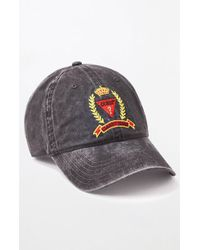 a05ca2ca2d1 Guess - Washed Classic Strapback Dad Hat - Lyst