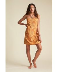 Billabong X Sincerely Jules Kick Rocks Dress - Yellow