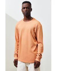 PS Basics Troyat Long Sleeve T-shirt - Brown