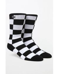 Obey - Checkers Crew Socks - Lyst