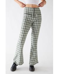 The Ragged Priest Starter Flare Pants - Green