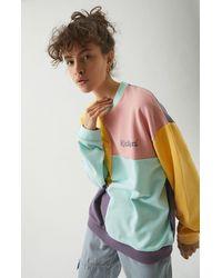 Kickers Colorblock Panel Sweatshirt - Multicolor