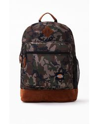 Dickies Camouflage Large Backpack - Black