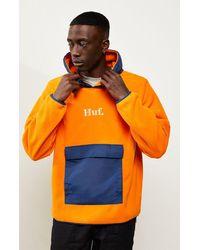 Huf Domestic Pullover Fleece - Orange