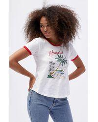 Rhythm Hawaii T-shirt - White