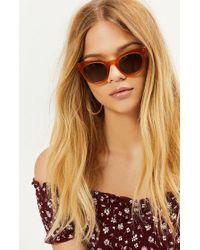 Wonderland - Peach Perris Sunglasses - Lyst